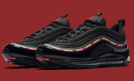 Undefeated x Nike Air Max 97 Black Release Date Main AJ1986-001