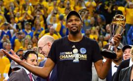 Kevin Durant Finals MVP 2017