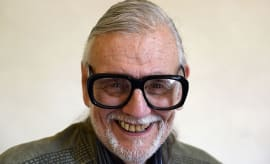 This is a photo of George Romero