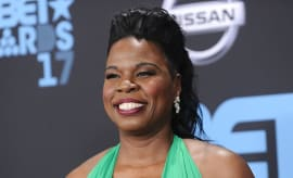 Leslie Jones attends the 2017 BET Awards.