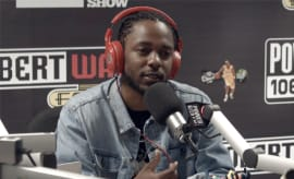 Kendrick Lamar on Power 106
