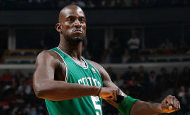 Kevin Garnett Celtics 2009 Getty