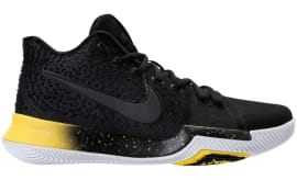 Nike Kyrie 3 Black/Yellow Release Date Thumb 852395-901