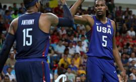 Carmelo Anthony Kevin Durant 2016 Olympics
