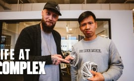 Magician Chris Ramsay Stops By The Complex Office | Life At Complex