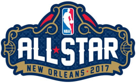 2017 NBA All-Star Game logo.