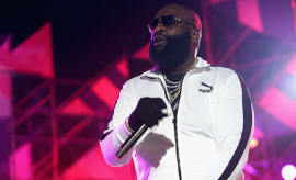 Rick Ross performs onstage at MTV Woodies