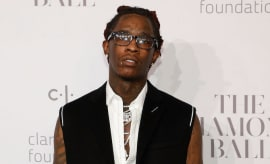 Young Thug Diamond Ball