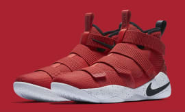 Nike LeBron Soldier 11 University Red Release Date Main 897644-601