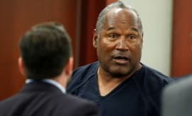 O.J. Simpson makes a court appearance.