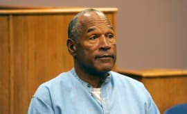 O.J. Simpson attends his parole hearing