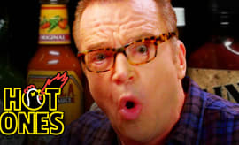 Hot Ones Tom Arnold thumb