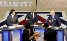 Jay Williams College GameDay Set Arizona UCLA