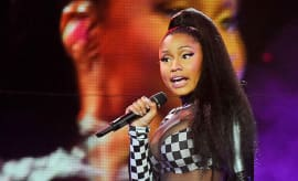 This is a photo of Nicki Minaj.
