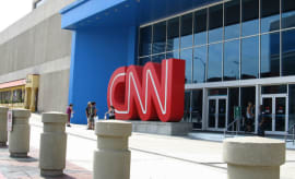 CNN Center in Atlanta, Georgia