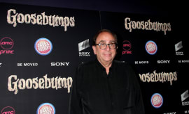 R.L. Stine at 'Goosebumps' New York Premiere