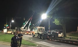 Confederate statues removed in Baltimore