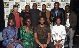 The Cast of 'Black Panther' at San Diego Comic-Con 2017