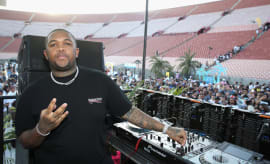 DJ Mustard performs onstage at Pandora Sounds Like You Summer