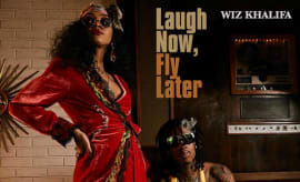 "Stream Wiz Khalifa's ""Laugh Now, Fly Later"""