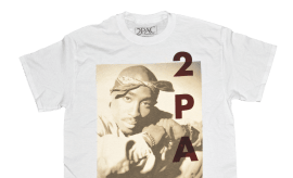 2Pac merch for Urban Outfitters