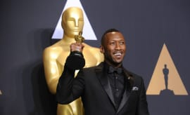 Mahershala Ali in the 89th Academy Awards Press Room