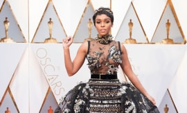 This is a photo of Janelle Monae.