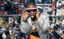 ASAP Ferg Sneaker Shopping