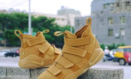 Nike LeBron Soldier 11 SFG Wheat Release Date 897647-700 (1)