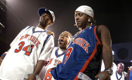 Fab Bow Wow Dupri MSG 2002 Getty