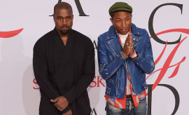 Kanye West and Pharrell Williams