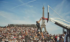 Jordan Quai 54 World Streetball Championships in Paris, July 2017