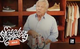 Robert Kraft Sneaker Shopping
