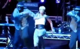 "This is Mary J. Blige dancing mashedup to Solange's ""Cranes in the Sky."""