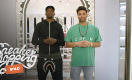 Chad Johnson Sneaker Shopping