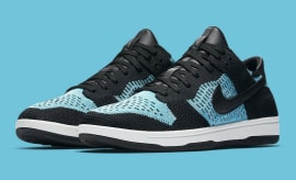 Nike SB Dunk Low Flyknit Chlorine Blue 917746-001