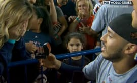 Carlos Correa pops the question.