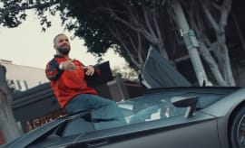 "Drake in YG's ""Why You Always Hatin?"" video."