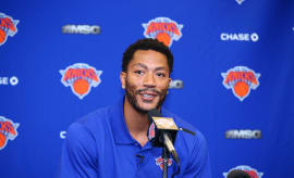 Derrick Rose press conference June 2016