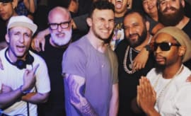 Johnny Manziel at LIV in Miami.