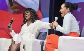 Michelle Obama Tracee Ellis Ross