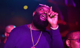 Rick Ross attends a Party at Gold Room.