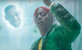 LeBron James and Lil Yachty's Sprite commercial.