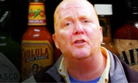 mario batali celebrates thanksgiving with spicy wings hot ones