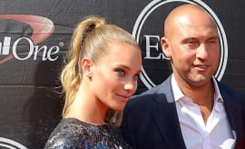 Derek Jeter and Hannah Jeter at the ESPYS.