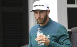 Dustin Johnson at the 2017 Masters.