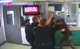 cop brawl