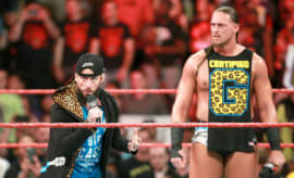 WWE Superstars Enzo Amore and Big Cass.