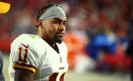 Washington Redskins receiver DeSean Jackson.