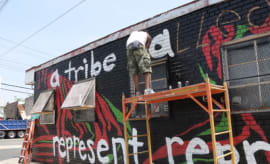 Screenshot of A Tribe Called Quest Mural